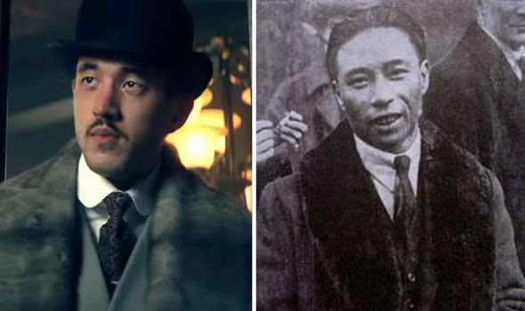 real pictures of Peaky blinders characters in real life - brilliant chang in peaky blinders