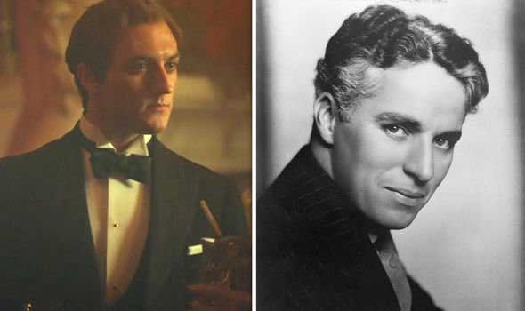 real pictures of Peaky blinders characters in real life - Charlie Chaplin in peaky blinders